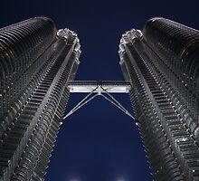 Petronas Towers by Steve Henschke