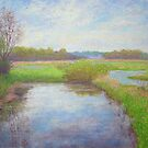 Creek in May by Julia Lesnichy