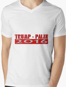 Trump Palin 2016 Mens V-Neck T-Shirt