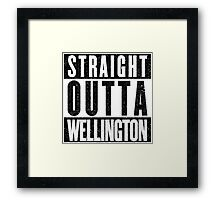 Wellington Represent! Framed Print