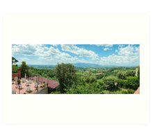 Montecarlo Italy Art Print