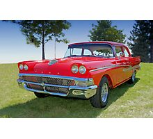 1958 Ford Fairlane Photographic Print