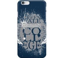 Greendale Paintball Squad iPhone Case/Skin