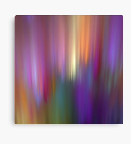 Fractal abstract with light effects Canvas Print