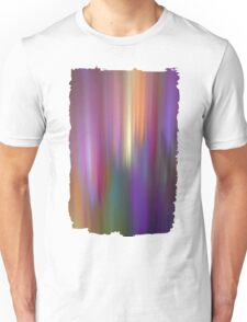 Fractal abstract with light effects Unisex T-Shirt