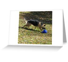 Ella and her Jolly Ball Greeting Card