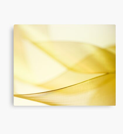 Gold Ribbon Canvas Print
