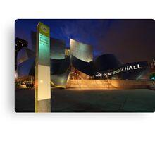Disney Concert Hall in Los Angeles, CA Canvas Print