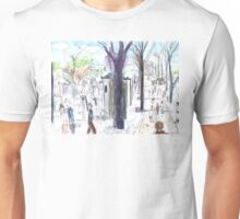 Visiting Édith Piaf Unisex T-Shirt