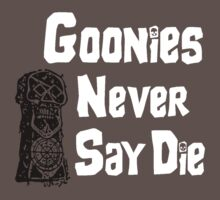 Goonies Never Say Die by David Cumming