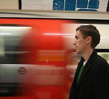 London Tube - Self Portrait by craigs79