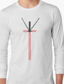 Lightsaber Cross Long Sleeve T-Shirt