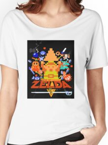 Star Wars Movie Poster Meets A Zelda Themed Epic Win! Women's Relaxed Fit T-Shirt