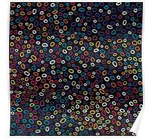 Blueberry Confetti Poster