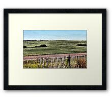A Clear Breezy Afternoon Framed Print