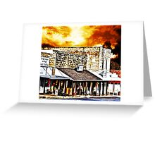 Small Town USA Greeting Card