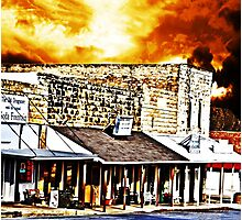 Small Town USA Photographic Print