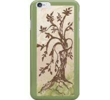 Young Willow Tree, Going With the Flow iPhone Case/Skin