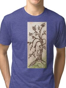 Young Willow Tree, Going With the Flow Tri-blend T-Shirt