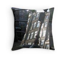 Amsterdam Reflection 1 Throw Pillow