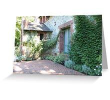 garden patio Greeting Card