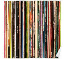 Classic Alternative Rock Records Poster