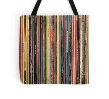 Classic Alternative Rock Records Tote Bag