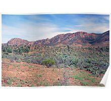 Aroona Valley, Flinders Ranges, South Australia Poster