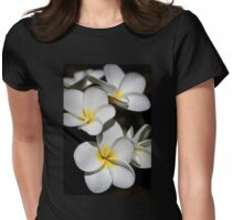 Plumeria Womens Fitted T-Shirt