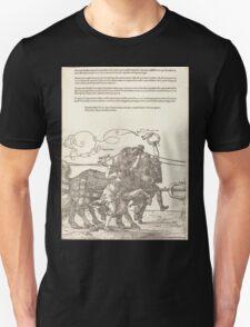Albrecht Dürer or Durer The Triumphal Chariot of Maximilian I The Great Triumphal Car plate 5 of 8 Unisex T-Shirt