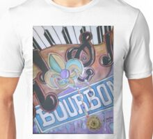 Bourbon Street Collage Unisex T-Shirt