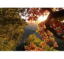Autumn's Morning Glow, Hawks Bill Crag Photographic Print
