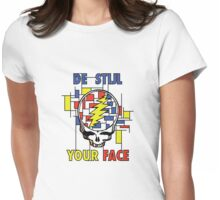 De Stijl Your Face (Girls T) Womens Fitted T-Shirt