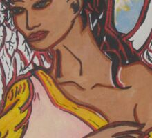 My Lovely Nubian Angel Sticker