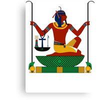 Heh | Egyptian Gods, Goddesses, and Deities Canvas Print