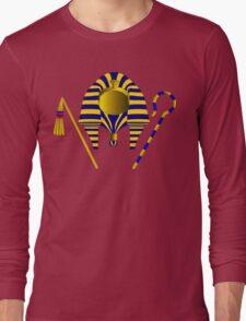Pharaoh Tut   Egyptian Gods, Goddesses, and Deities Long Sleeve T-Shirt