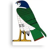 Horus as Falcon | Egyptian Gods, Goddesses, and Deities Canvas Print