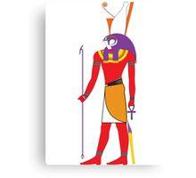 Horus [FRESH Colors] | Egyptian Gods, Goddesses, and Deities Canvas Print