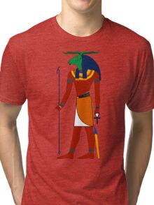 Khnum   Egyptian Gods, Goddesses, and Deities Tri-blend T-Shirt