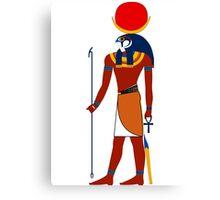 Khonsu as Falcon | Egyptian Gods, Goddesses, and Deities Canvas Print