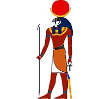 Khonsu as Falcon | Egyptian Gods, Goddesses, and Deities Photographic Print