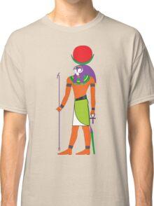 Khonsu as Falcon [FRESH Colors]   Egyptian Gods, Goddesses, and Deities Classic T-Shirt