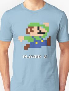 Luigi Player 2 Unisex T-Shirt