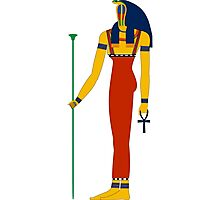 Meretseger | Egyptian Gods, Goddesses, and Deities Photographic Print