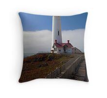 Path to Pigeon Point Throw Pillow