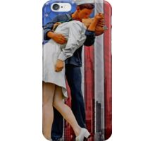 The VJ day Kiss iPhone Case/Skin