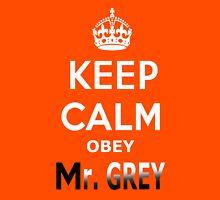 Keep Calm Obey Mr. Grey T-Shirt