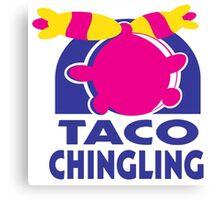 Taco Chingling (Pokemon) Canvas Print