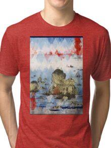 ⟁ v a n t   C o e u r - Ise futamigaura -REMIX- Tri-blend T-Shirt
