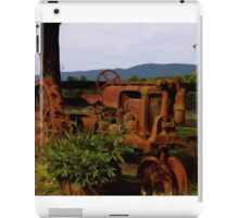 Old Tractor iPad Case/Skin